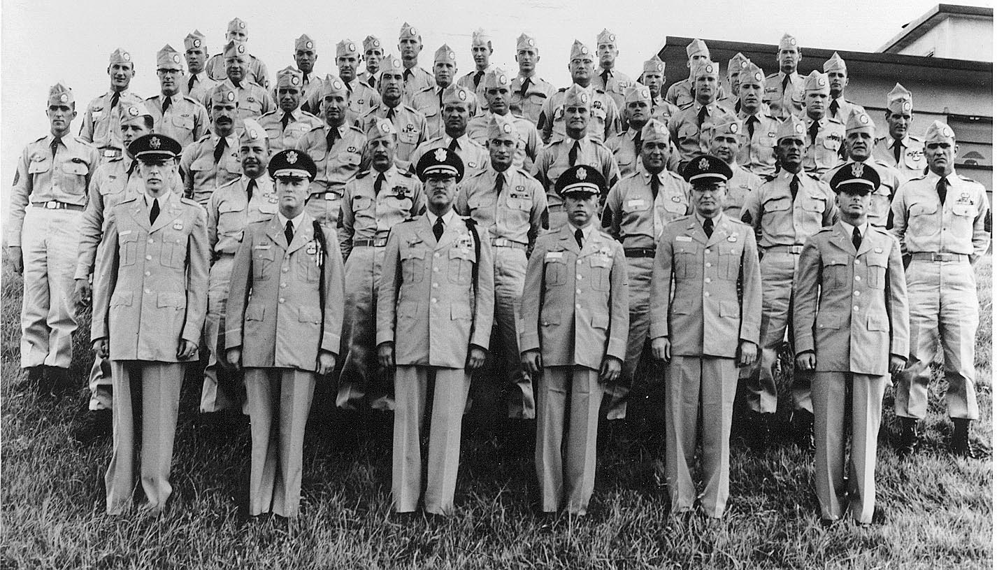 Entire 1st SFGA in Formation, Late July 1957